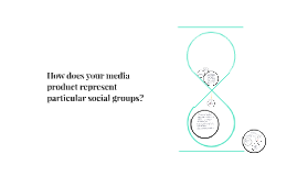 How does your media product represent particular social grou