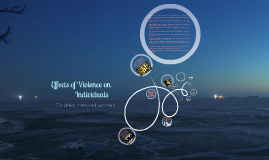 Copy of Copy of Effects of violence on individuals