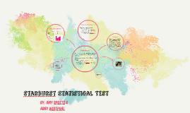 Starbursts Statistical Test