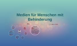 Copy of Medien für Menschen mit Behinderung