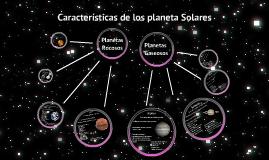 Copy of Características de los planetas del sistema solar