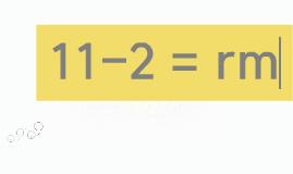 11-2 = 구남조