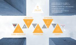 Copy of Plantilla de negocios con triángulos