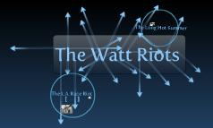 Watt Riots by Chris Longwell, Olivia Garza, and Dalton Smith