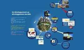 Du développement au développement durable
