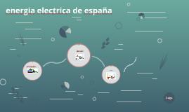 energia electrica de españa