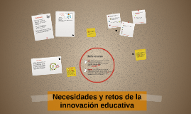Retos de la innovación educativa