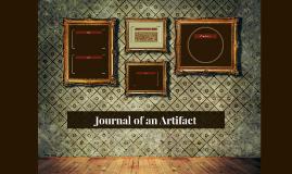 Journal of an Artifact