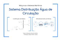 Sistema Distribuição Água Potável