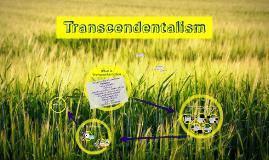 Copy of Transcendentalism