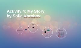 Activity 4: My Story