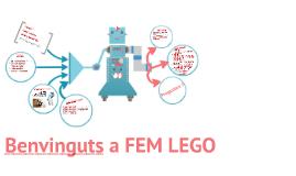 Benvinguts a FEM LEGO 1r d'ESO 15-16