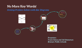 No More Key Words! - Develop Problem-Solvers with Bar Diagrams