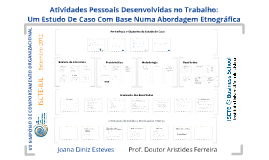 Copy of Actividades Pessoais Desenvolvidas no Trabalho