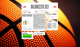 BALONCESTO 3X3 by Marta Piquero