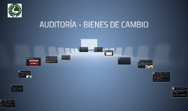 Copy of Auditoria - Rubro: Bienes de Cambio