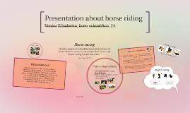 Presentation about horse riding