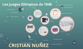 Los juegos Olimpicos de 1948