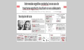 Intervención cognitivo-conductual en un caso de transtorno n