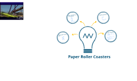 Paper Roller Coaster Science