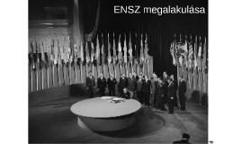 ENSZ megalakulása