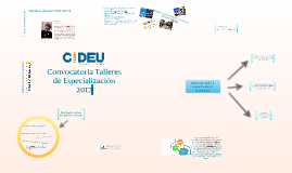 T.E. Ciudad y nueva economía 2017- CIDEU