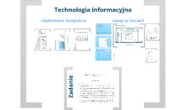 TI, Użytkowanie komputera, usługi w sieciach