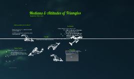 Medians & Altitudes Presentation