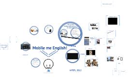 Mobile me English!