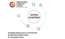 Estrategia política de comunicación del MPF