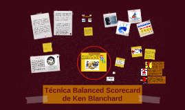 Copy of Técnica Balanced Scorecard de Ken Blanchard