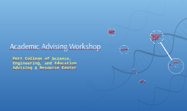 Mentoring Program Academic Advising Workshop