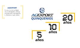 Quinquenios AGEXPORT 2013