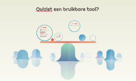 Quizlet is ontworpen als een hulpmiddel voor zelfstudie en n