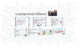 Le programme Alliance