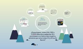 Copy of ¿Porqué gases  como CO2, N2O y CF2Cl2 absorben radiación IR