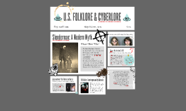 U.S. Folklore & Cyberlore