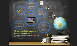 Differential Reinforcement of Alternative Behavior