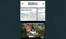 Horizontaal: Reporters zonder grenzen