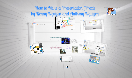 Copy of How to Make a Presentation (Prezi)