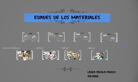EDADES DE LOS METALES