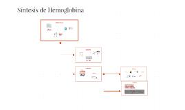 Síntesis de Hemoglobina