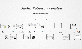 Connor & Maddie Jackie Robinson Timeline