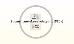 Suomen asutuksen kehitys (v. 1880-)