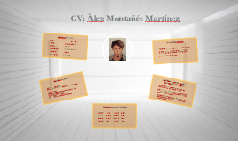 CV: Àlex Montañés Martínez