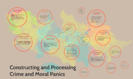 Constructing and Processing Crime and Moral Panic