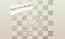 El juego y la educación