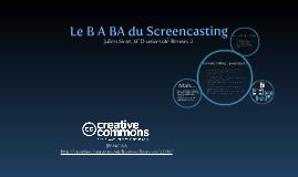 B A BA du Screencasting pour les bibliothèques