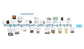 1800-1860s Timeline