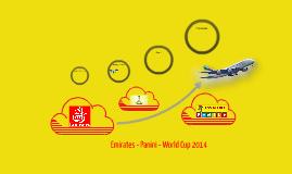 Emirates - Panini - World Cup 2014